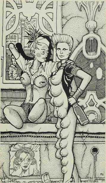 Ilustracija -- prostitutke