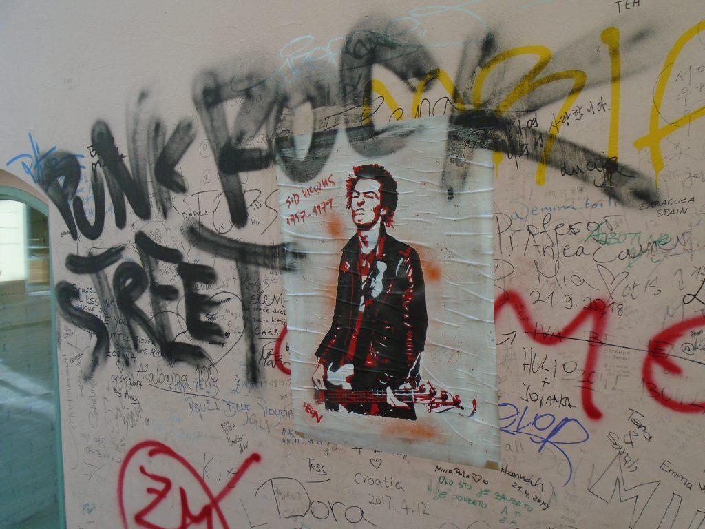 Sid Vicious u Punk Rock Streetu